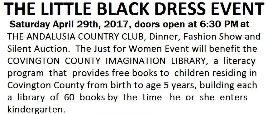 Little Black Dress Event The Andalusia Country Club Covington